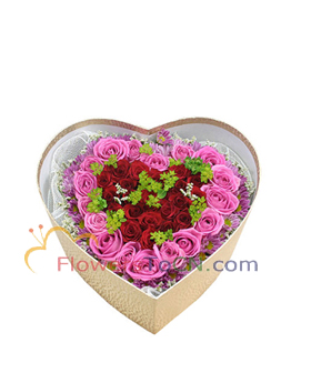 gift box  - flowers to China
