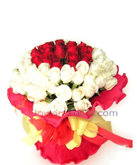 52 roses - China flowers