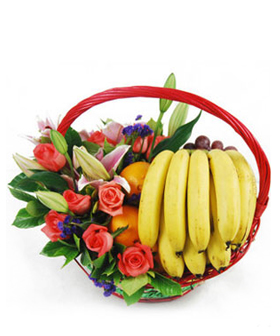 Flowers And Fruit - fruit to China