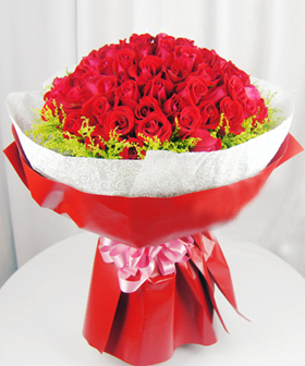 99 red roses - China flowers