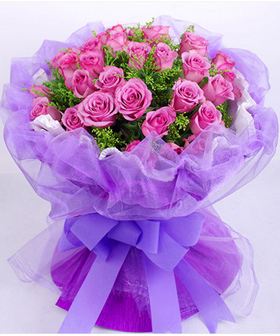 Purple Flowers - Flowers to China