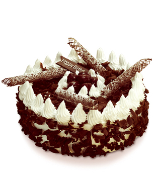 Black Forest- cakes to china