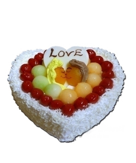 Heart-shaped Cake - cakes to china
