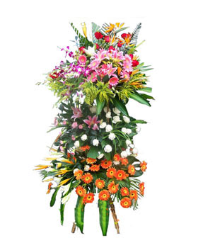 Hampers flowers to China