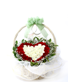 flower baskets - China flowers Delivery