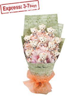 Toy bouquet - Gifts to China