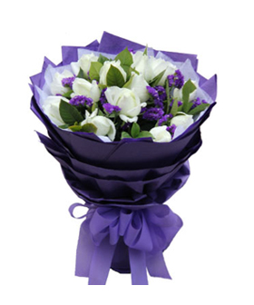 Purple Romance - China flower delivery