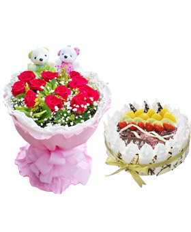 Birthday Combination - China flower delivery