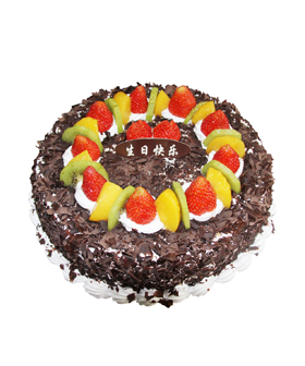 Chocolate fruit - cakes to china