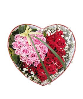 Love Your Heart - Flowers Gift Box