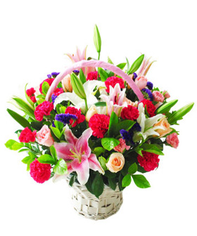 Love Continuous - flower baskets to China