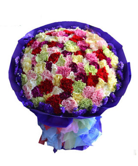 Satisfactory Love - Send flowers to China