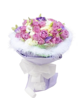 Purple Mood - China flower delivery