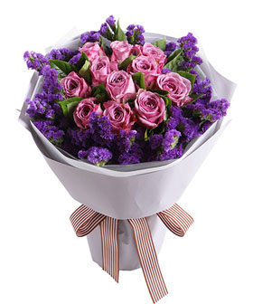 Purple Romantic - Send flower China