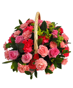 Flower Basket - Send flowers China